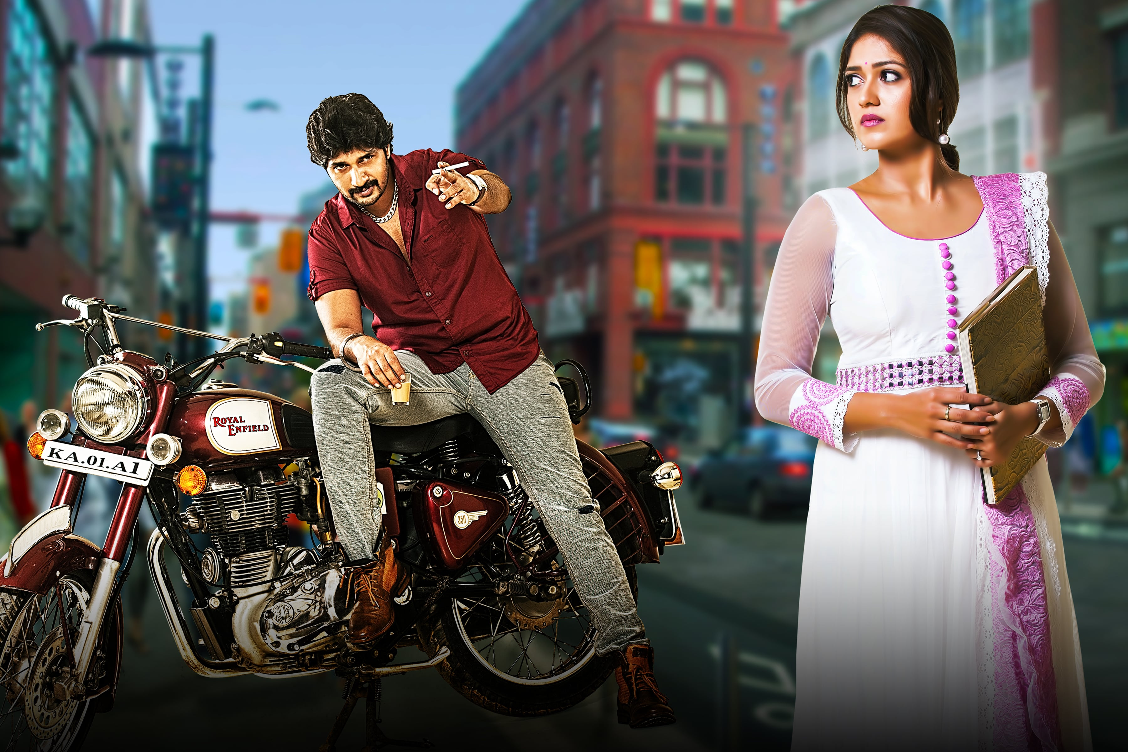 Image result for onti kannada movie
